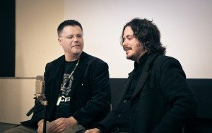 Chris Jones and Edgar Wright in conversation at the LSF