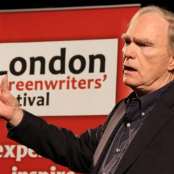 Robert Mckee taking the main stage at the LSF