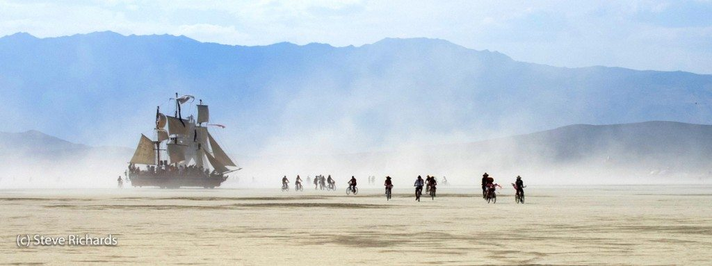 Dodging a pirate ship - a day in the life at Burning Man
