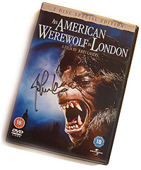 American Werewolf In Londond Signed
